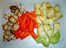 chicken nilaga - veggie prep 1