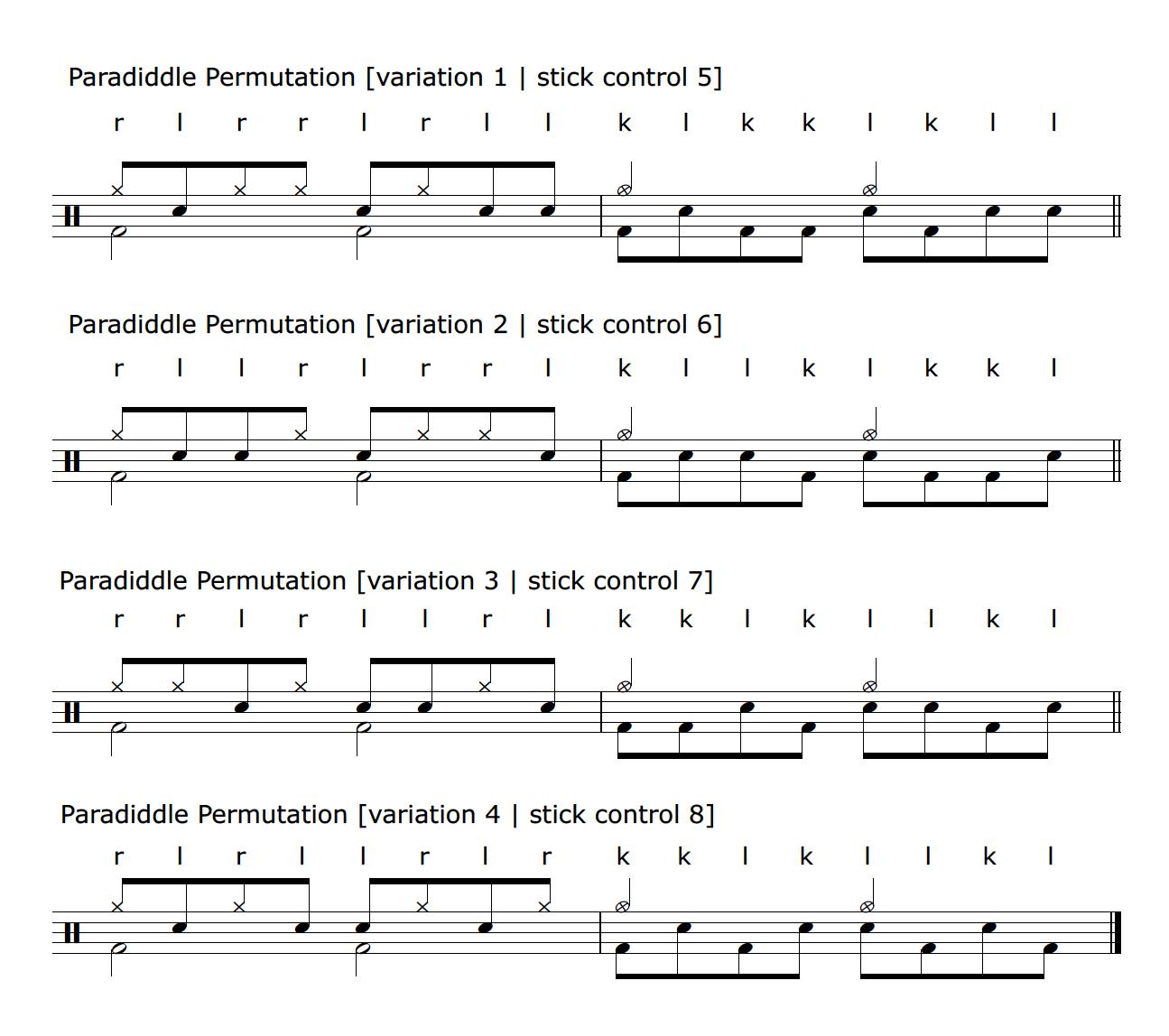 paradiddlepermutations